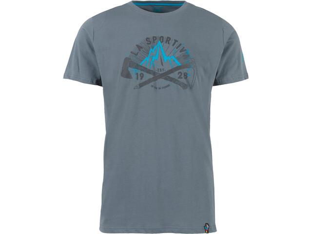 La Sportiva Hipster T-Shirt Herren slate